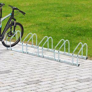 5 Bike Floor Wall Rack Stand