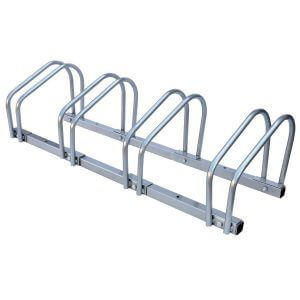 4 Bike Floor Wall Rack Stand