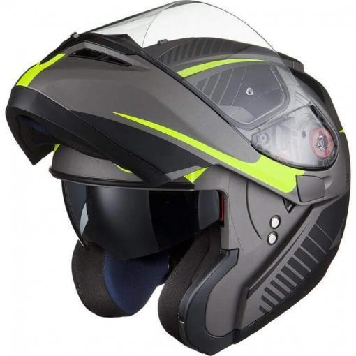 Flip up helmet motorcycle